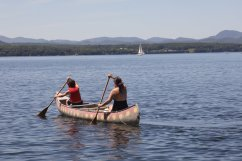Ethan & Mom Canoe
